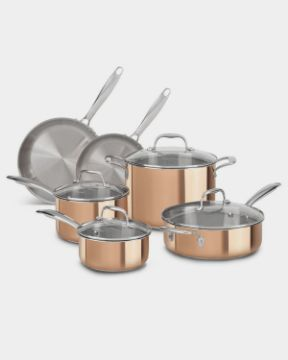 Picture of Tri-Ply Copper Kitchen Set
