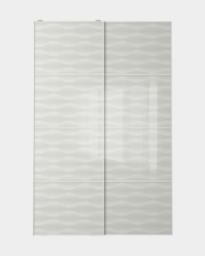 Picture of White Glass Wardrobe