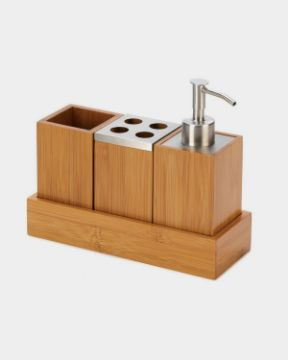 Picture of Bamboo Toothbrush Holder