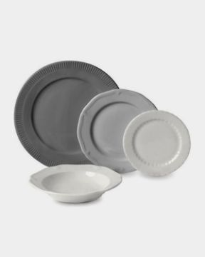 Picture of Gray Dinnerware Set